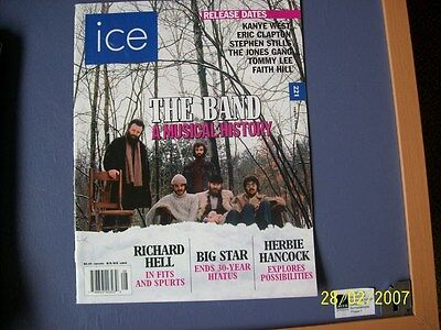 Ice Magazine Tomorrows Music News Today Issue 221  Aug 2005  The Band