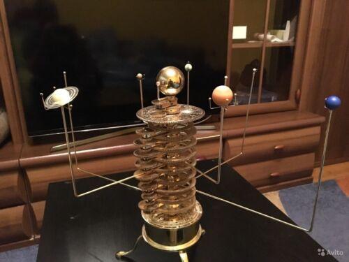SOLAR SYSTEM MODEL ORRERY BY EAGLEMOSS