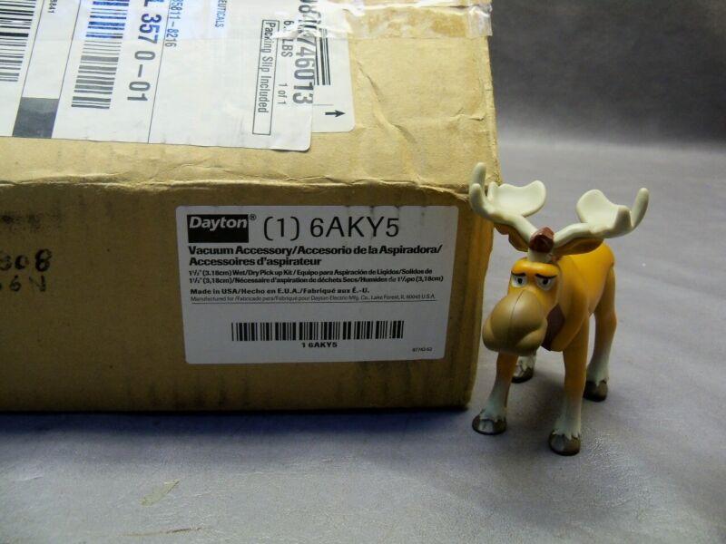 "Dayton 6AKY5 Wet/Dry Vacuum Accessory Kit (Missing the 14"" Nozzle)"
