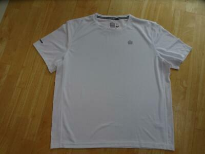 ADMIRAL mens white sports t shirt top SIZE XL EXCELLENT CONDITION