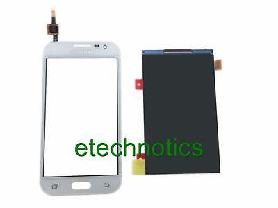 White Samsung Galaxy Core Prime Sm-g360t T-mobile Touch S...