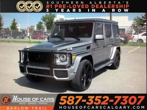 2013 Mercedes-Benz G-Class G 63 AMG / Back Up Camera / Sunroof /