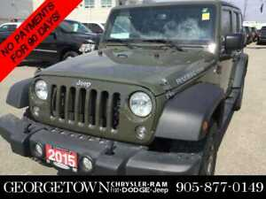 2015 Jeep Wrangler Unlimted Rubicon