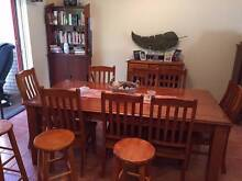 wooden dinning table, 3 kitchen stools,a fridge, BBQ, ect Beaumont Burnside Area Preview