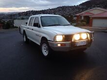 1999 Mitsubishi Triton GLX, Dual Cab, Great condition Hobart CBD Hobart City Preview
