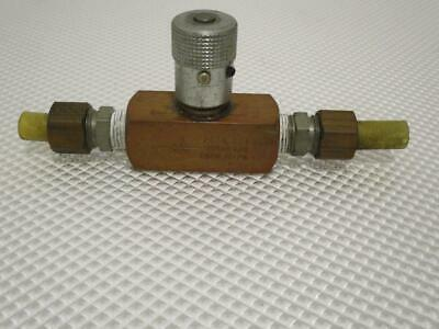 One Used Parker 2000psi Hydraulic Valve N600b.