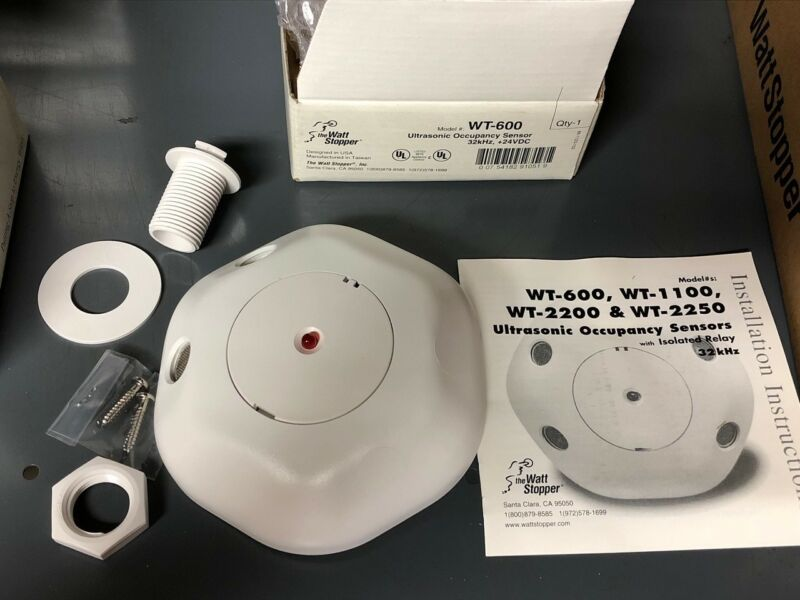 Wattstopper WT-600  Occupancy Sensors; White 24Vd