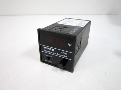 Minco Products Ct137 Temperature Controller Fahrenheit Ct137pdif A
