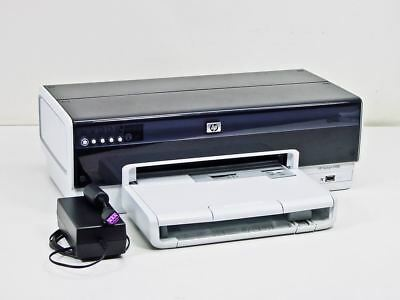 HP Deskjet 6988 Workgroup Inkjet Printer CLEAN! LOW USE w Ink Cartridges