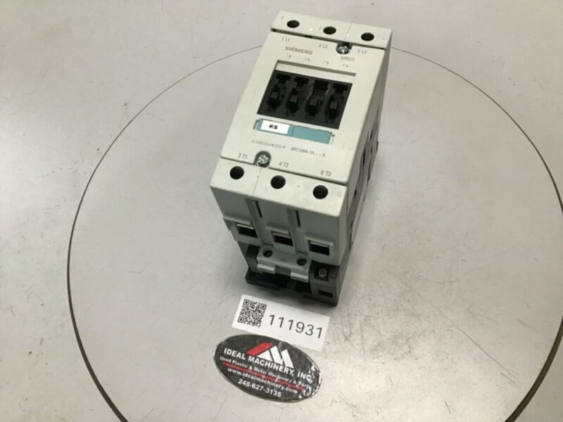 SIEMENS Contactor 3RT1044-1A Used #111931