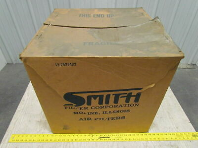 Smith Filter Corp 24 X24 X2 Heavy Duty Galvanized Steel Mesh Airgrease Filter