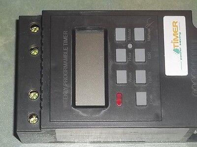 Programmable Digital 12v Timer 24 Hour 7 Day 30 Amp For Car Boat Heater Cooler