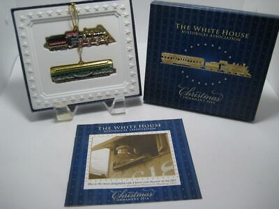 The White House Historical Association Christmas Ornament 2014 Train Set
