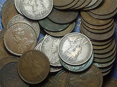 1917 CANADIAN LARGE PENNIES KING GEORGE V        BUY ONE OR BUY THEM ALL