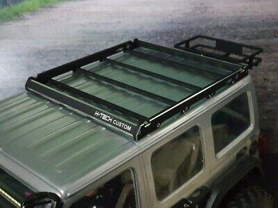 RC 1/10 Aluminum metal Roof rack for SCX10iii Gladiator Wrangler 313mm body