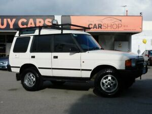 1996 Land Rover Discovery V8i White 4 Speed Automatic Wagon