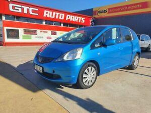 2010 Honda Jazz GE MY10 GLi Blue 5 Speed Automatic Hatchback Morphett Vale Morphett Vale Area Preview