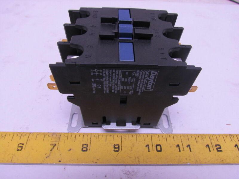 Dayton 6GNX1 Definite Purpose Motor Contactor 2-Pole 110-120V Coil FLM@ 277 50A