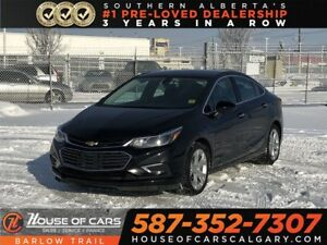 2018 Chevrolet Cruze Premier / Back up Camera / Heated leather s