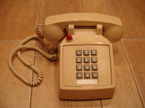 ITT 250044-MBA-27M Traditional Desk PHONE with call light 1996