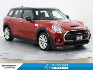 2018 MINI Cooper Clubman Cooper S AWD, Essential + Loaded Pkg, S