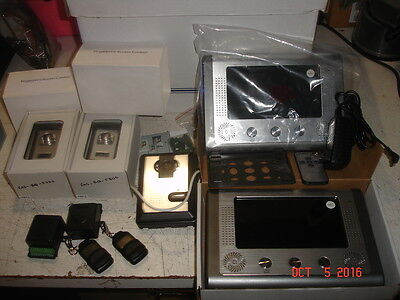 Security Door Access Control Parts Biometric Fingerprint Scanners LOT