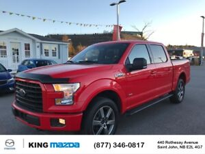 2016 Ford F-150 XLT NEW TIRES..BUCKET SEATS w/ FLOOR CONSOLE..BL