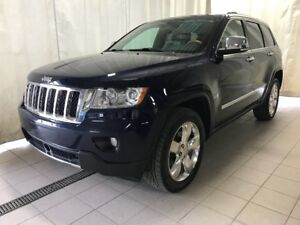 2013 Jeep Grand Cherokee Overland V8 Fully loaded