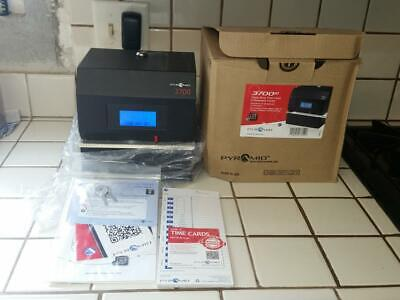 Pyramid 3700hd Heavy Duty Time Clock Document Stamp