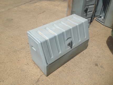7x poly toolboxes suit ute or truck