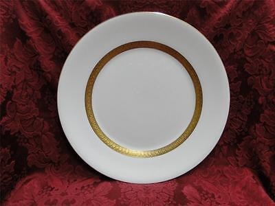 Wedgwood Adelphi, White w/ Gold Encrusted Verge: Dinner Plate (s), 10.75