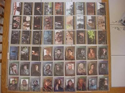 2013 Game of Thrones Season 2 COMPLETE 88-Card BASE SET