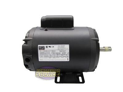 2 Hp Horse Power Single Phase Heavy Duty Electric Compressor Motor