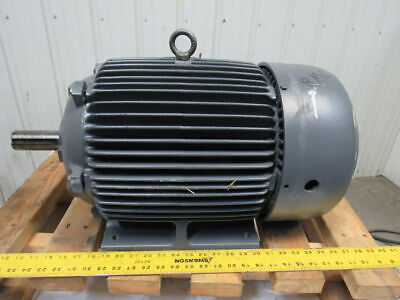 Westinghouse 20hp 1765rpm 230v 256t 1-58 Shaft Severe Duty Ac Electric Motor