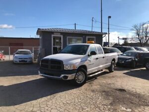 2005 Dodge Ram 2500 DIESEL LOW KMS!!! 8'BOX CREWCAB