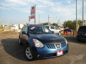 2008 Nissan Rogue NO ACCIDENT ,B-TOOTH, SUNROOF,HEATED  SEATS,AU