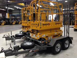 Brand new scissor lift  - Haulotte Opti 8 and Papas trailer combo Welshpool Canning Area Preview