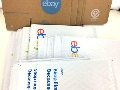 Ebay Shipping Supplies Business Lot Boxes Padded Bubble Envelope Mailers Tap Kit