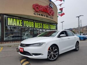 2016 Chrysler 200 C PANOROOF NAVI LEATHER R-CAM