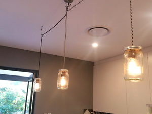 3 light fittings. Lindfield Ku-ring-gai Area Preview