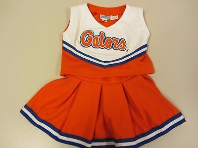 18M Gators Cheerleader Outfit Uniform Replica Signature Designs - Gator Kostüme