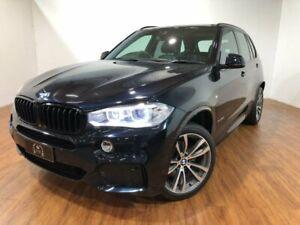 2015 BMW X5 F15 xDrive40d Black 8 Speed Sports Automatic Wagon
