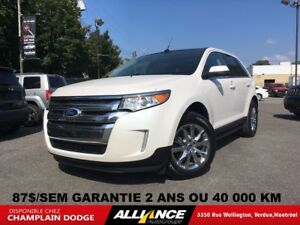 2013 Ford Edge LIMITED 87$/SEM CUIR,TOIT,NAVIGATION,IMPECCABLE