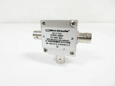 Mini-circuits Zfrsc-2050 Power Splittercombiner Coaxial Dc To 2000 Mhz