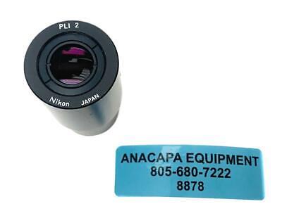 Nikon Pli 2 Photo Relay Eyepiece Lens For Microscope 8878w