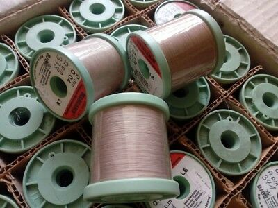 1 Roll Manganin Isabellenhute Heusler 0.04mm 330m Resistance Wire Cumn12ni Nos