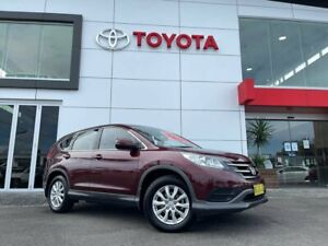 2013 Honda CR-V RM VTi Red 5 Speed Automatic Wagon Tweed Heads South Tweed Heads Area Preview