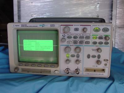 Agilent 54621d Digital Oscilloscope 60mhz 200mss Megazoom N2757a Gpib Interface