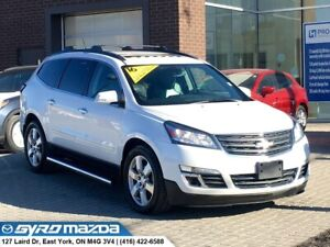 2016 Chevrolet Traverse LTZ ONE OWNER, 3RD ROW SEATING! LTZ,...