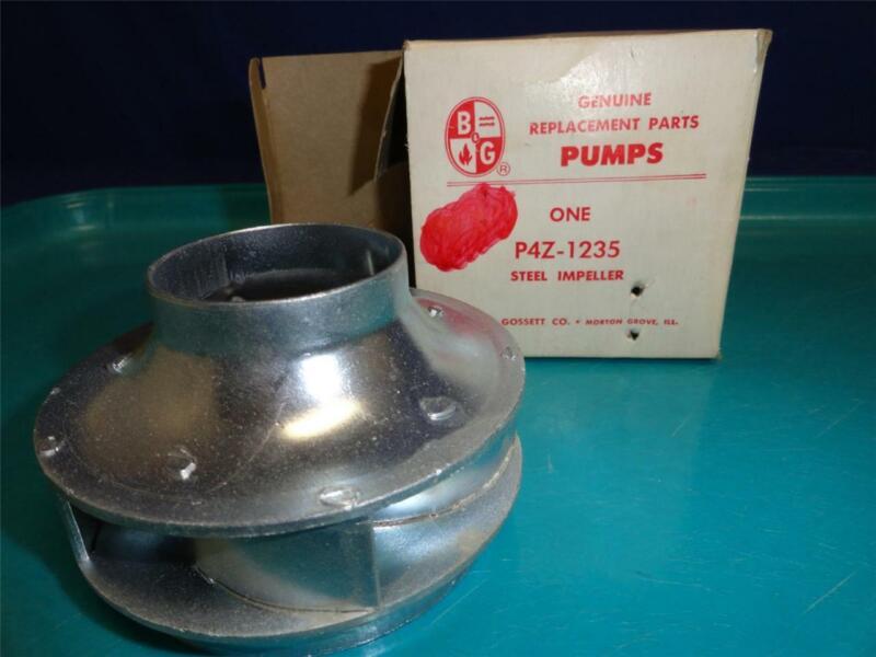 """Bell & Gossett P4Z-1235 Steel Pump Impeller B&G 3-3/8"""" Dia.  M24"""